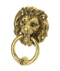 Дверное кольцо Pasini Testa Leone